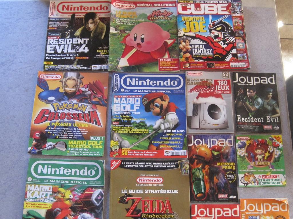 [VDS] Lot Magazines NINTENDO Img_2950
