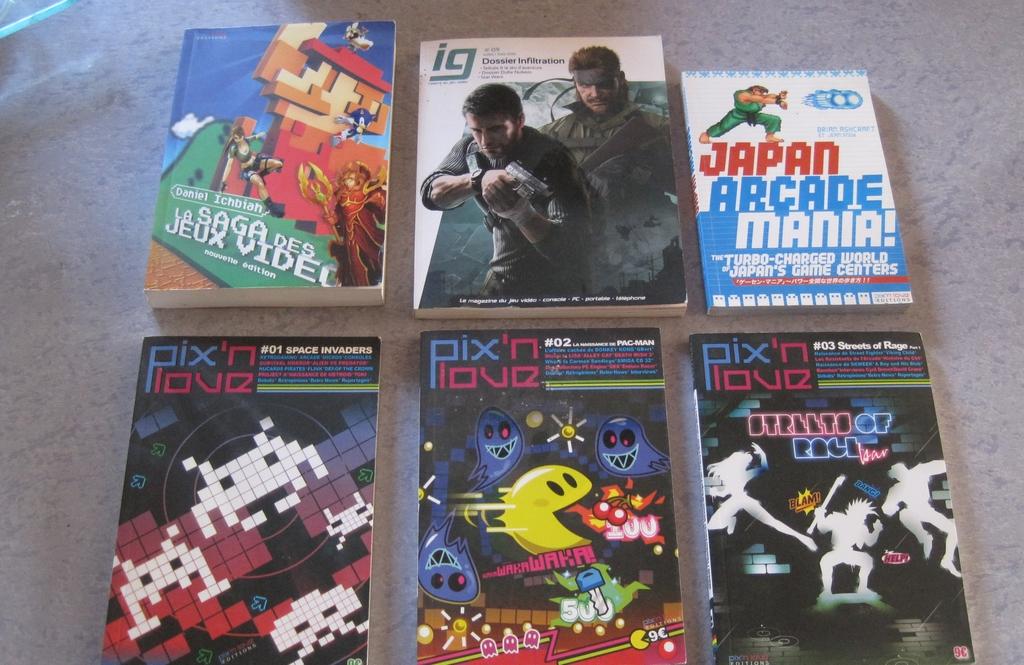 [VDS] Lot Livres consacrés aux jeux video et lot magazines JV divers Img_2952