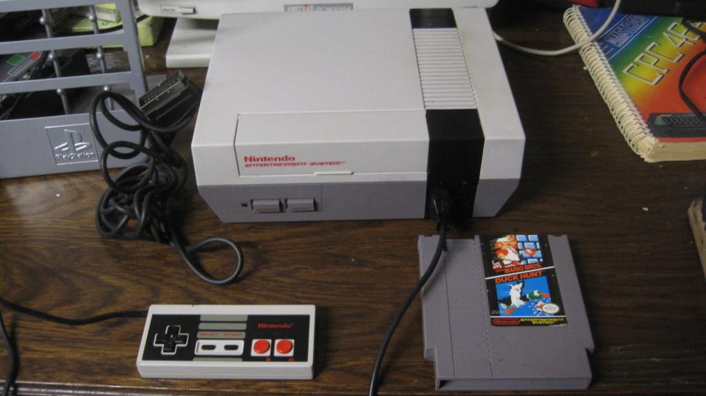 [VDS] Console NES en loose, avec 2 manettes + Jeu Duck Hunt en loose. 100% fonctionnelle. Img_3027