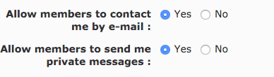 Using PM (Private Messages)  Screen10
