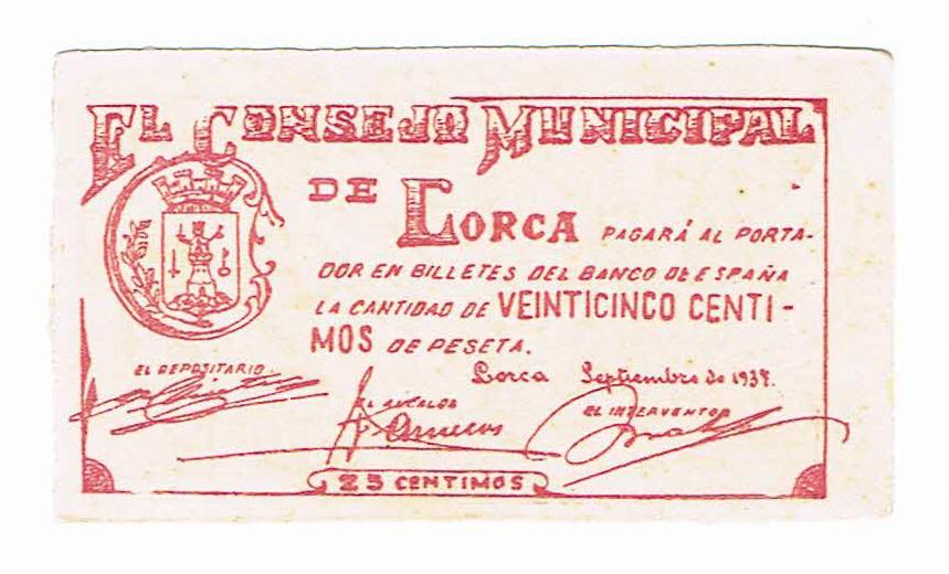 25 céntimos Lorca, 1937 25_cts12