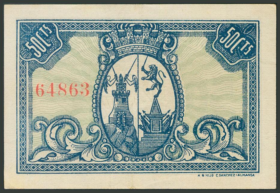 50 céntimos Almansa 50_cts13