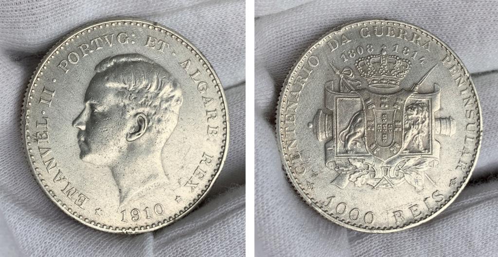 1000 reis Portugal 1910 0018