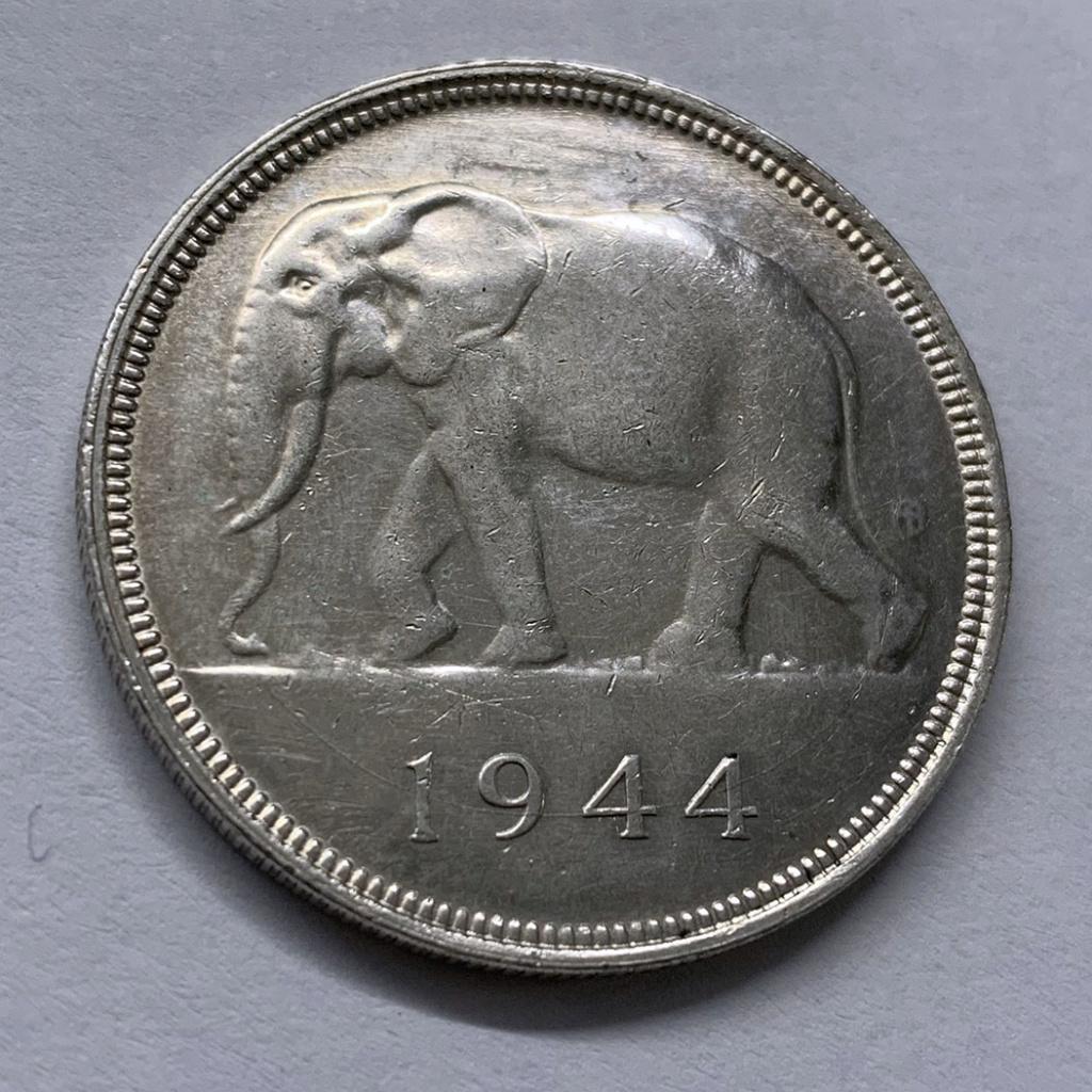 50 francos del -Congo Belga- 1944 0111