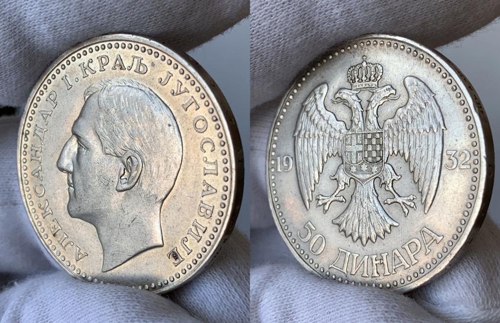 50 dinares 1932 Yugoslavia 0121