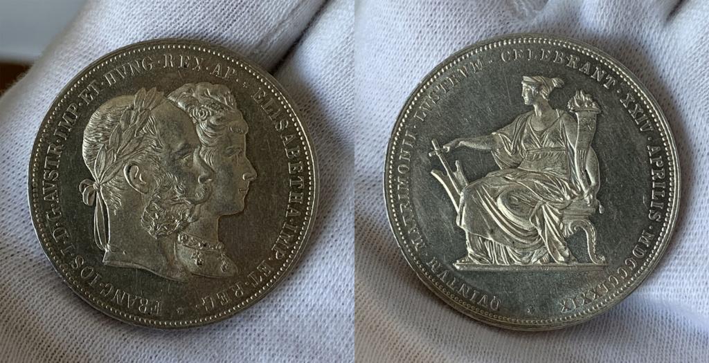 2 florines 1879 Austria 0122