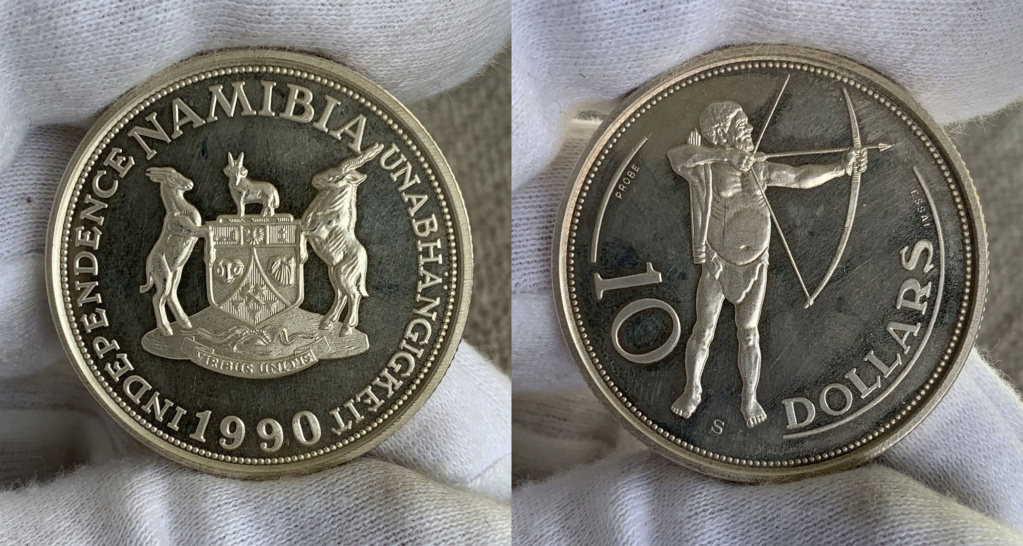 Namibia 10 Dollars 1990 0144