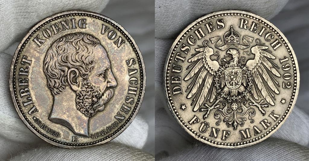 5 marcos Impero Alemán 1902 0149