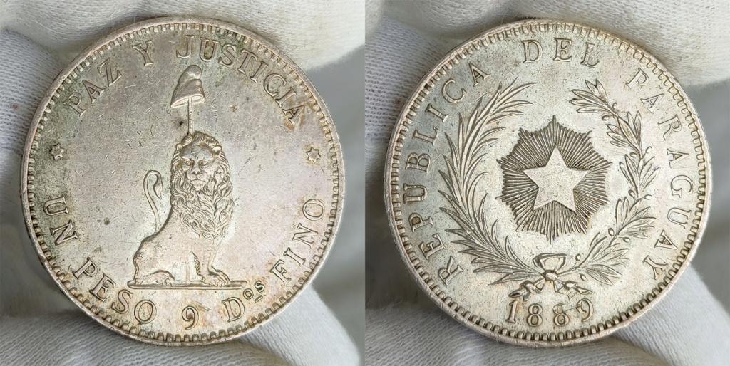 1 Peso 1889 Rep. del Paraguay 0152