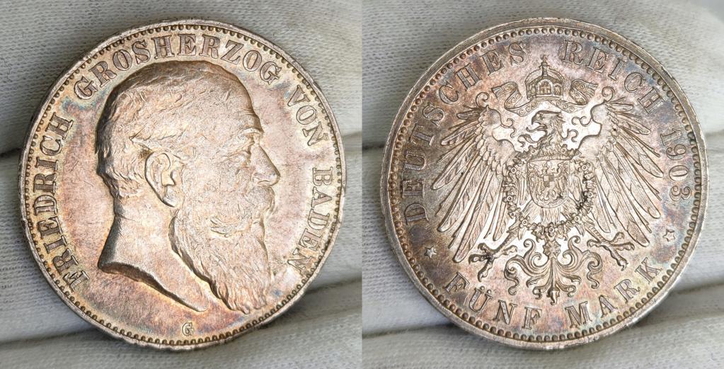 5 marcos Alemania 1903 G 0158