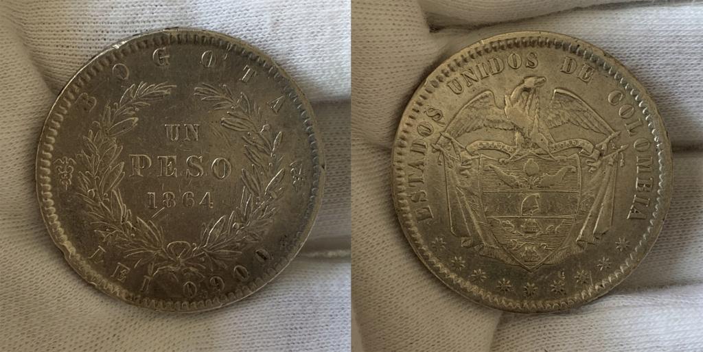 1 peso 1864 Colombia  01_0310
