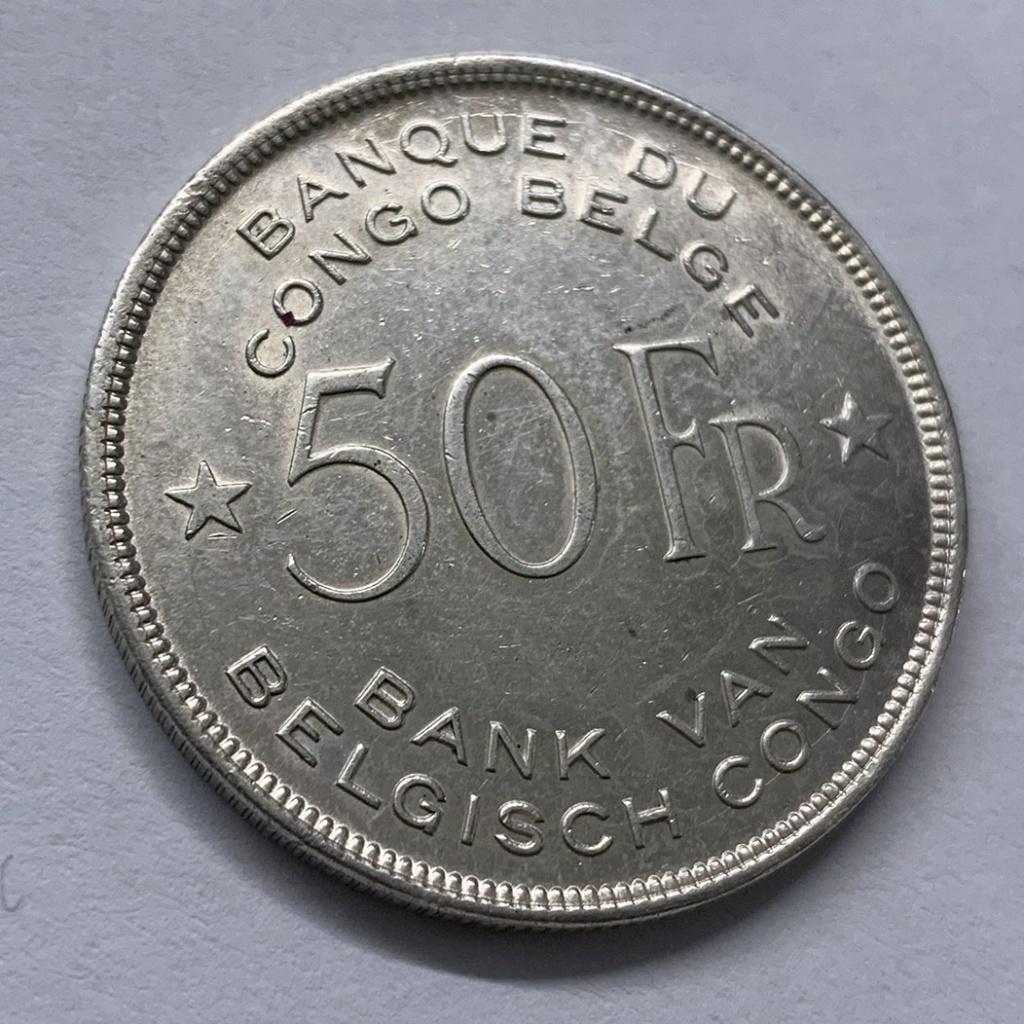 50 francos del -Congo Belga- 1944 0211