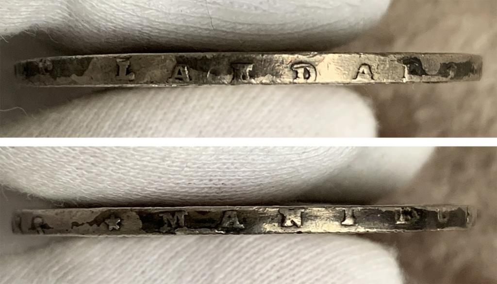 Suecia 1 Riksdáler o 3 Dáler Silvermint 1776 0231