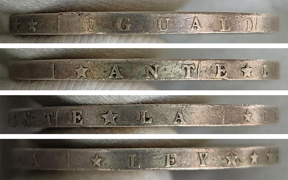 1 Peso 1889 Rep. del Paraguay 0253