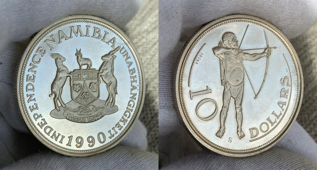 Namibia 10 Dollars 1990 0339