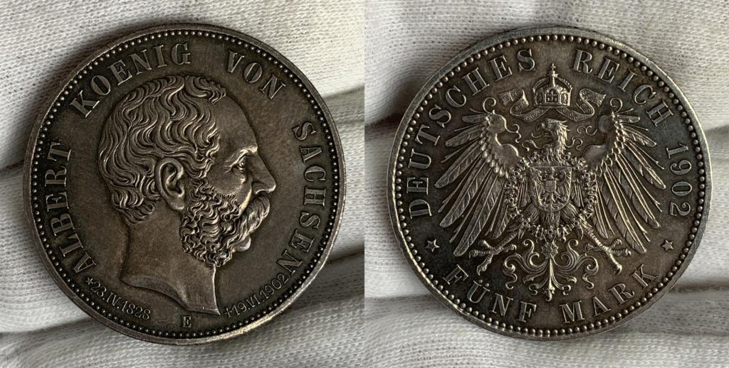 5 marcos Impero Alemán 1902 0343