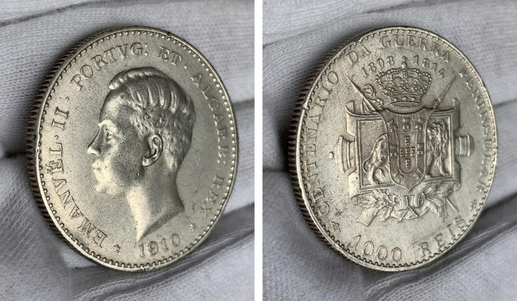 1000 reis Portugal 1910 0345