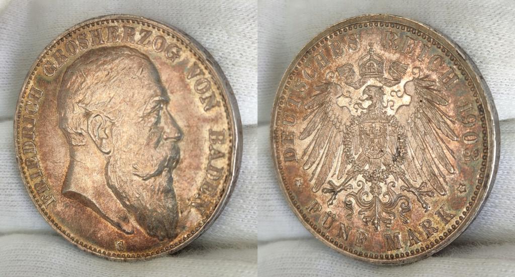 5 marcos Alemania 1903 G 0352