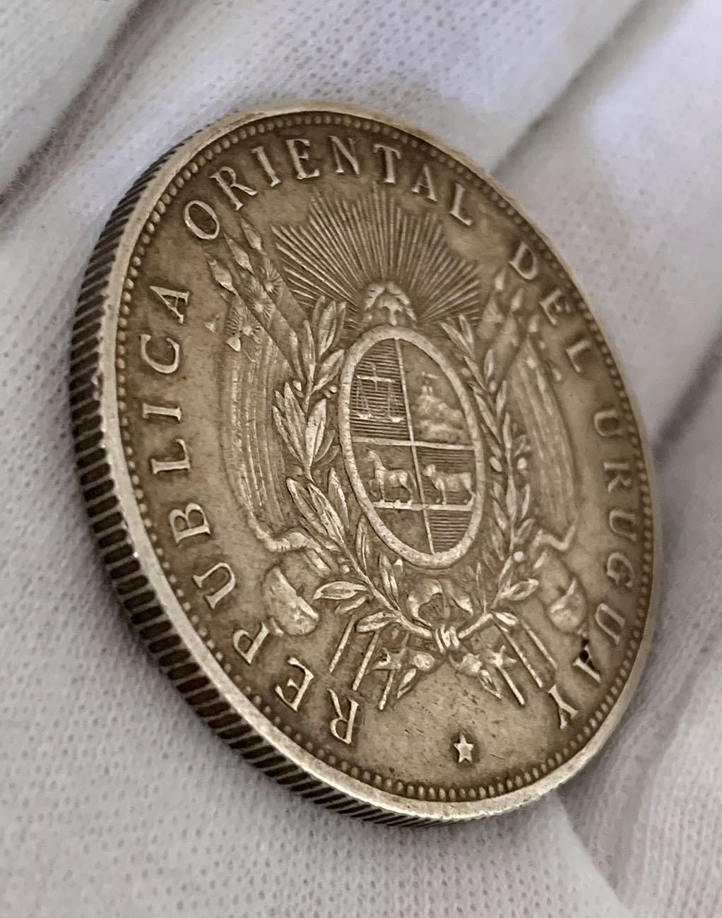 1 Peso Uruguay 1893 03_0310