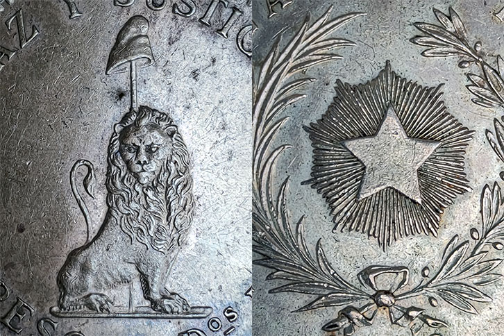 1 Peso 1889 Rep. del Paraguay 0420