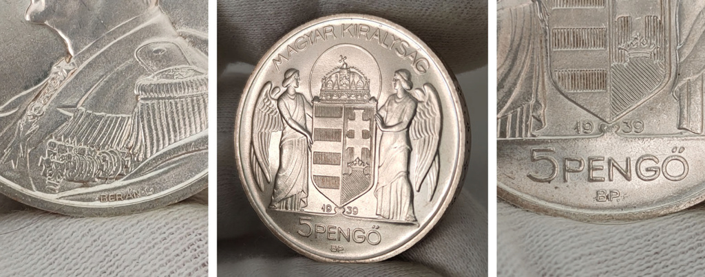 Hungría 5 pengős. 1939 0430