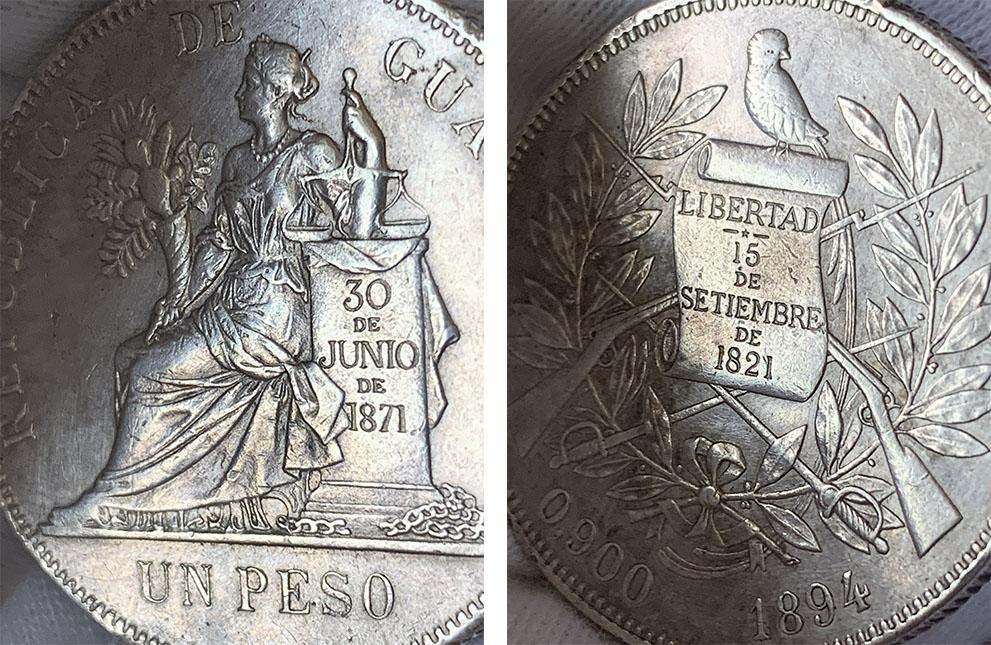 1 Peso Rep. de Guatemala 1894 04_0310