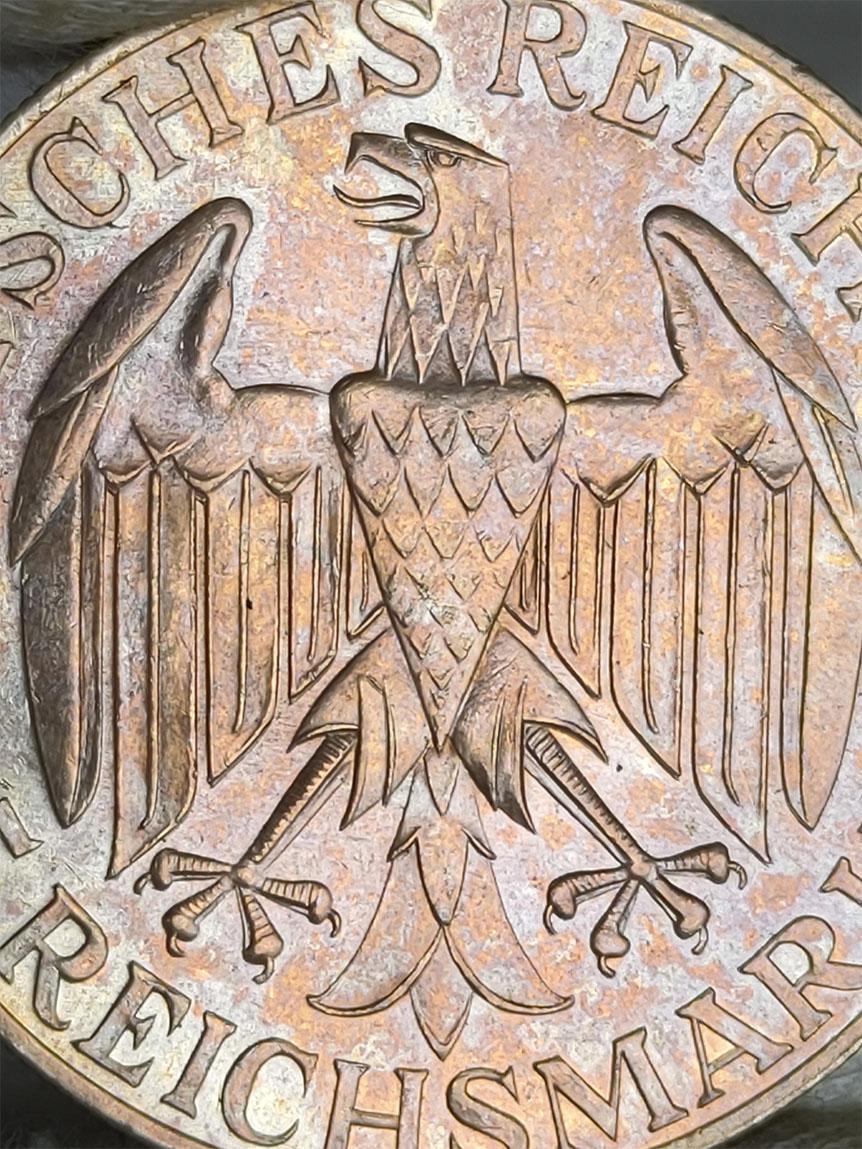 -GRAF ZEPPELIN- 5 marcos 1930 Alemania. 0513