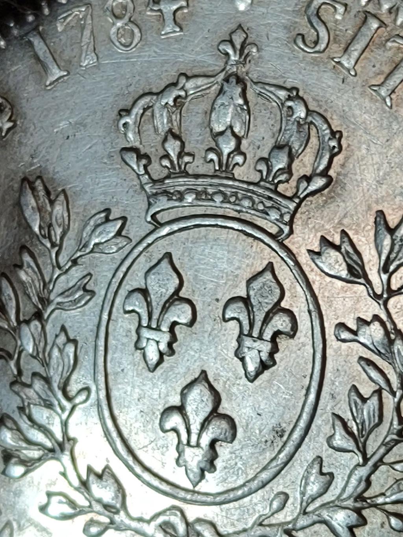 Ecu 1784 Francia Luis XVI 0514