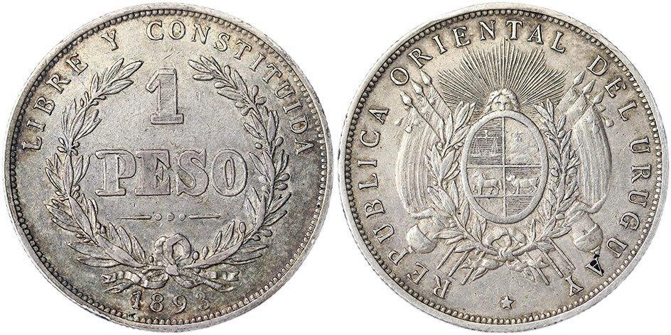 1 Peso Uruguay 1893 1_peso10