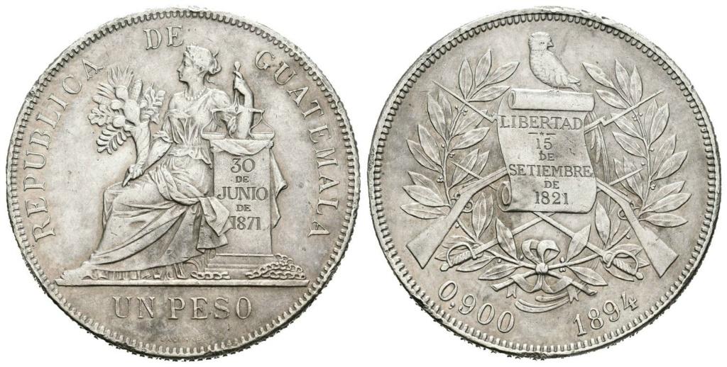 1 Peso Rep. de Guatemala 1894 1_peso12