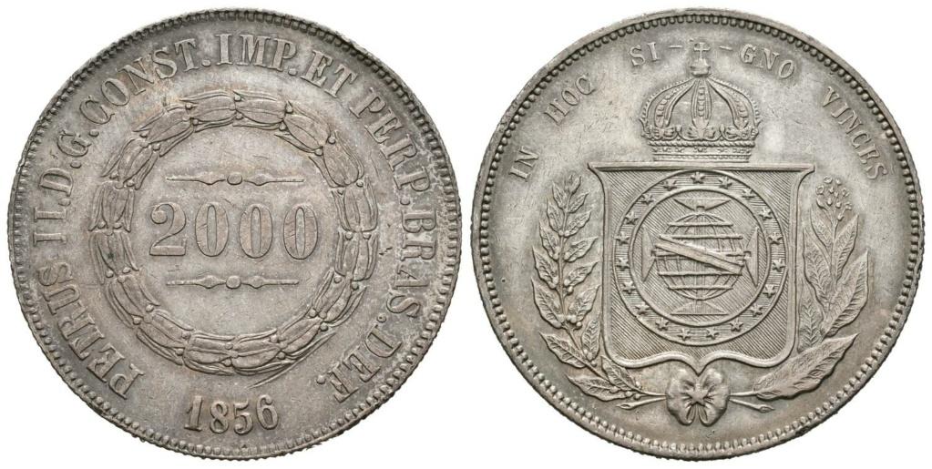 2000 reis. 1856  Brasil.  2000_r11