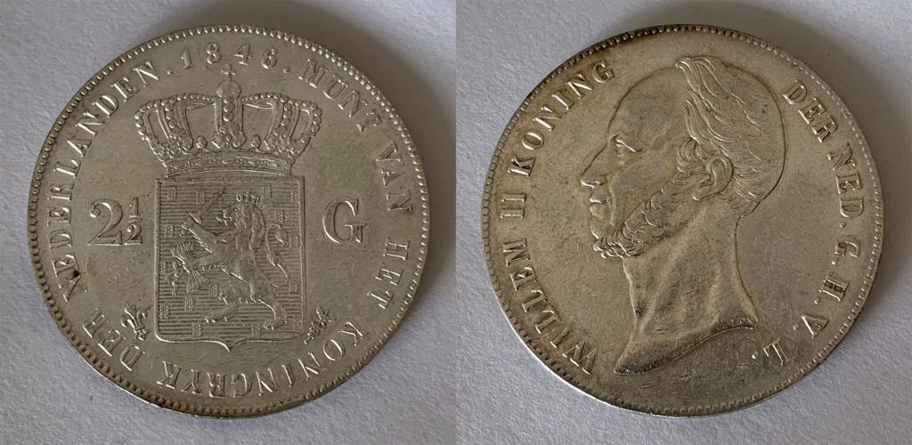 2 ½ Gulden, Países Bajos 1846 2_1_2_10