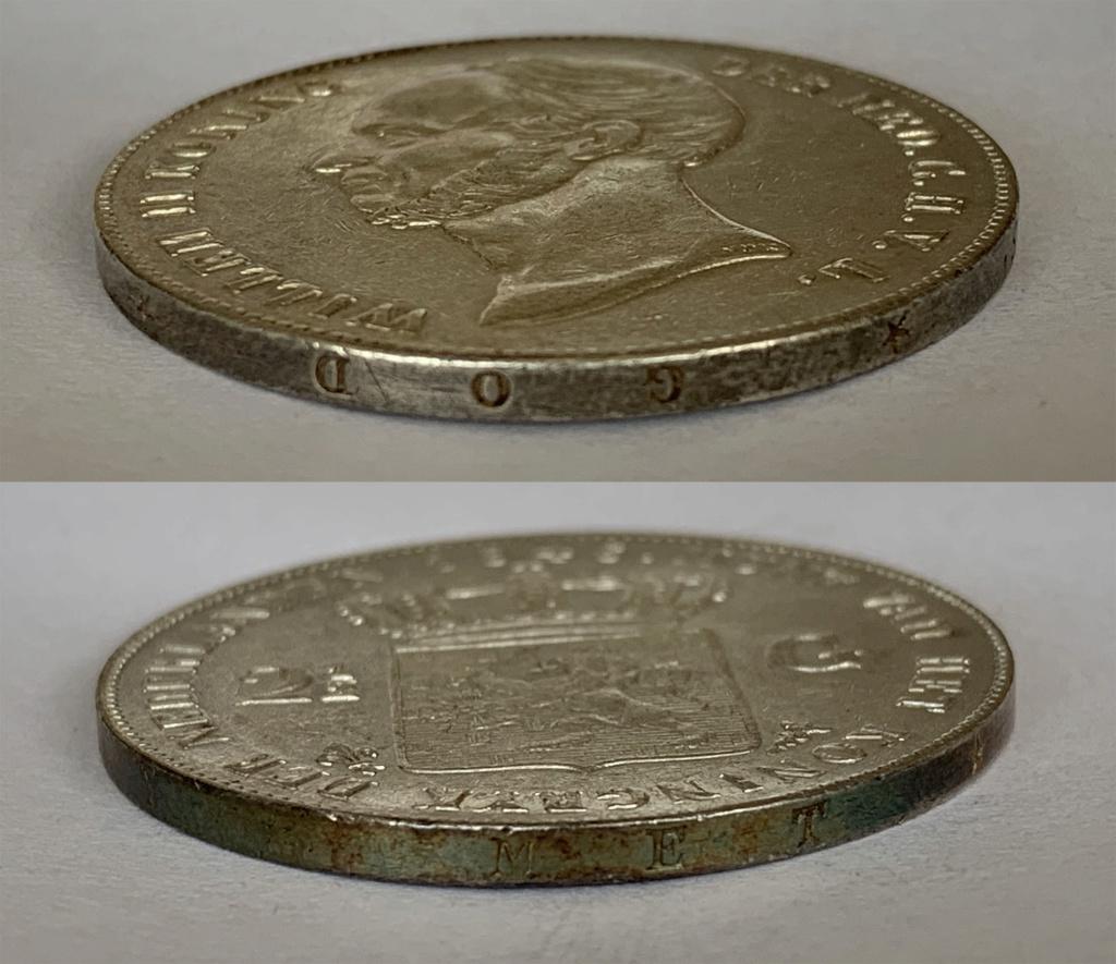 2 ½ Gulden, Países Bajos 1846 2_1_2_11