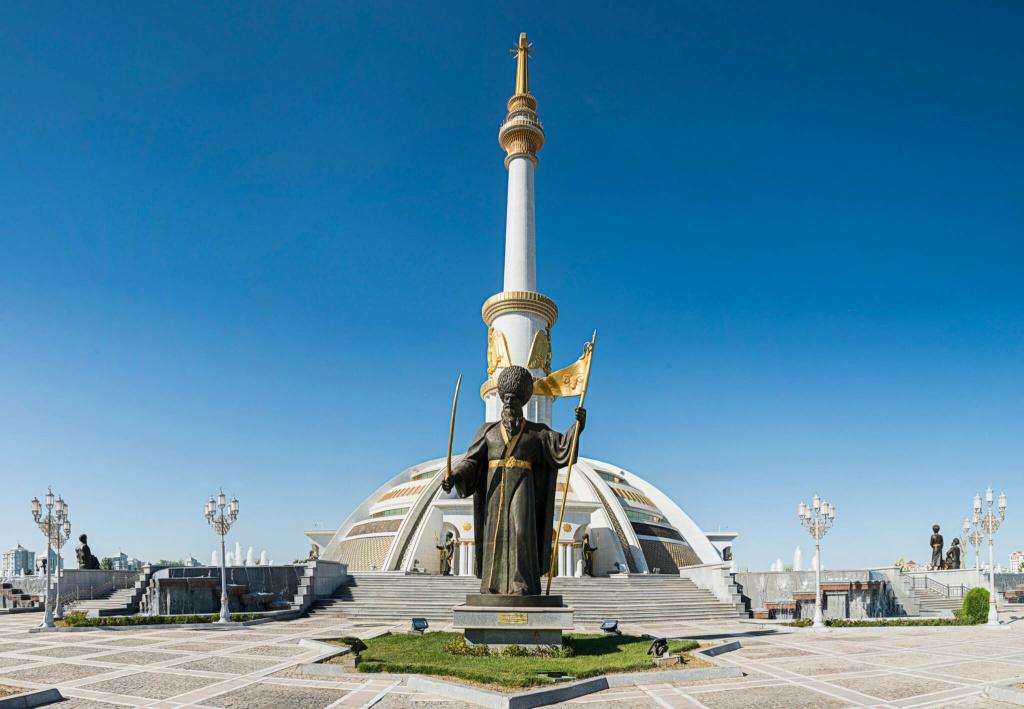 500 Manat. Turkmenistán 2003 48997610