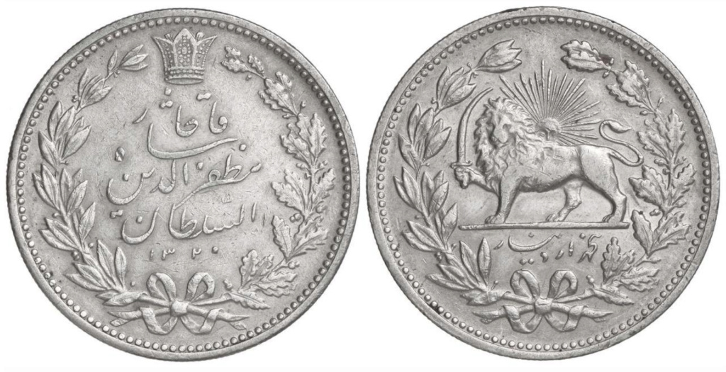 5.000 Dinares Irán 1902 (DH 1320) 5_000_10