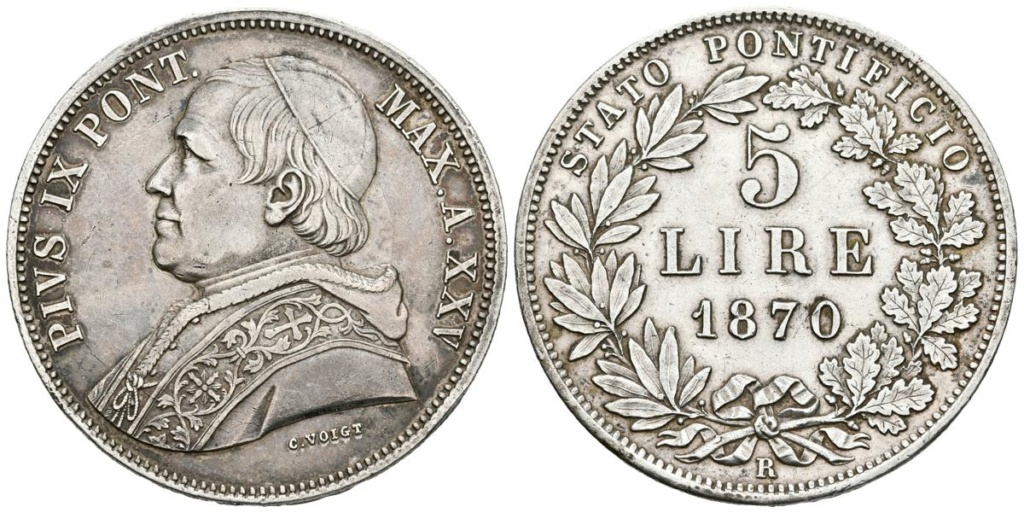 5 Liras Estados Pontificios 1870 5_lira10