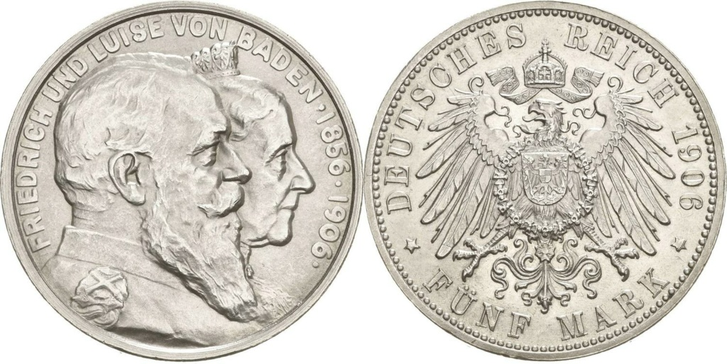 5 marcos imperio alemán 1906 5_marc11