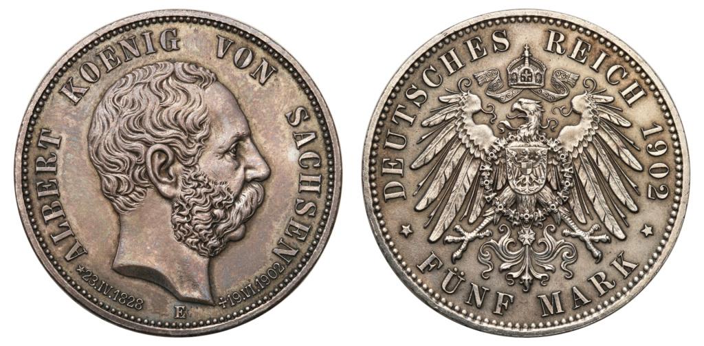 5 marcos Impero Alemán 1902 5_marc13