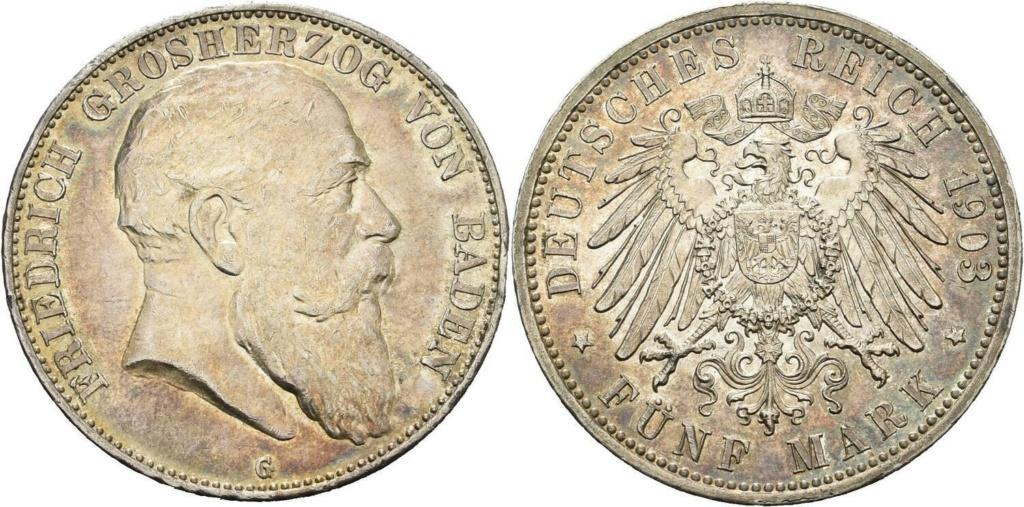 5 marcos Alemania 1903 G 5_marc15