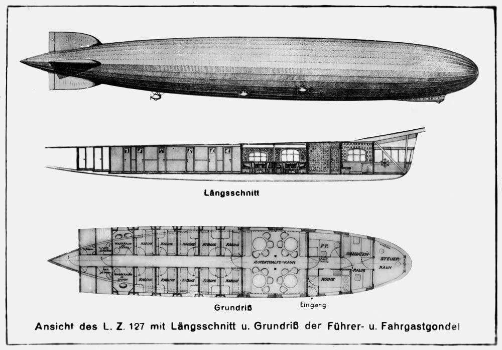 -GRAF ZEPPELIN- 5 marcos 1930 Alemania. 61cdp310