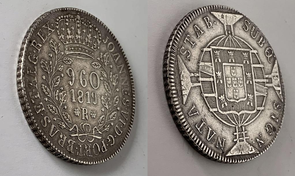 960 reis 1819 Brasil 960_re11