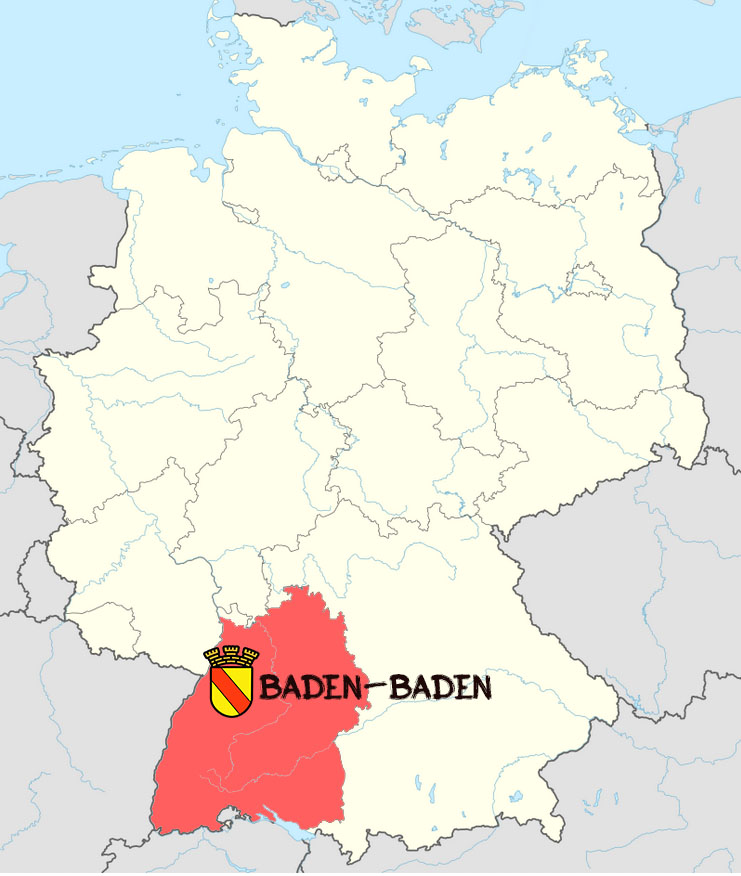 5 marcos imperio alemán 1906 Baden10