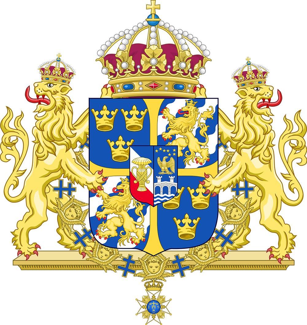 4 Riksdáler Riksmynt 1863. Suecia Coat-o10