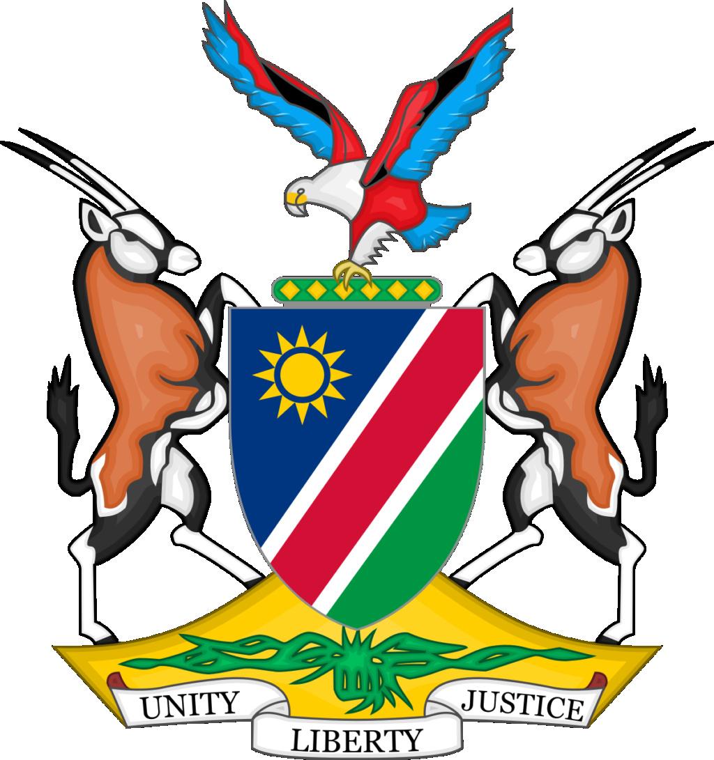 Namibia 10 Dollars 1990 Coat_o14
