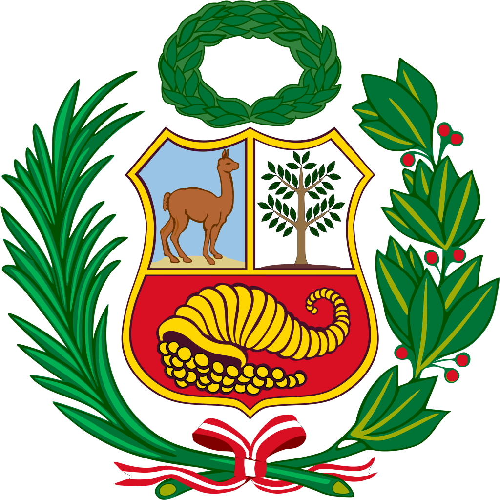 1 Sol. Rep del Perú. 1895 Coat_o16