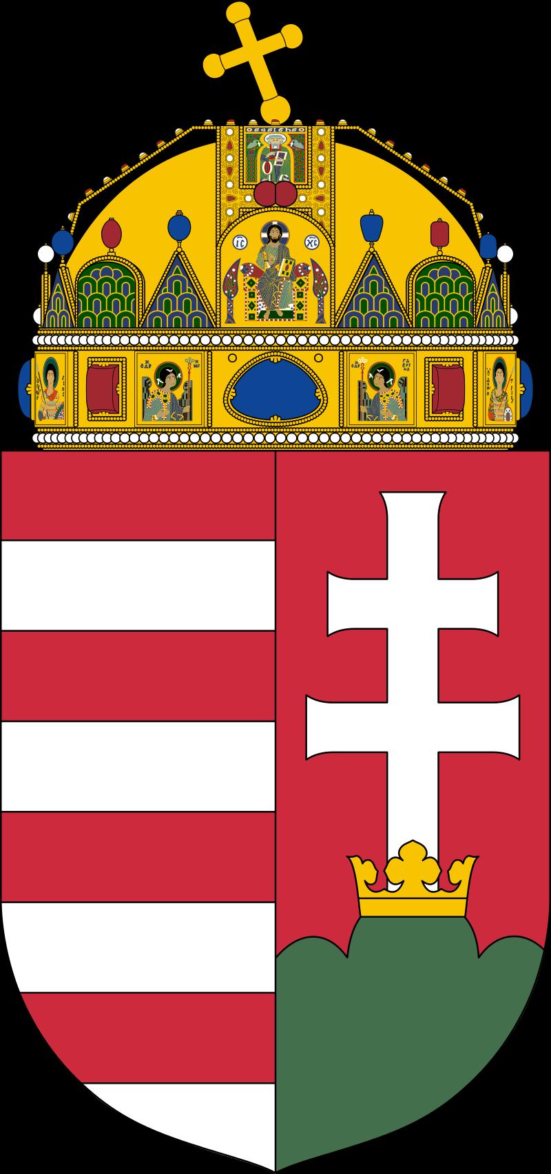 Hungría 5 pengős. 1939 Coat_o20