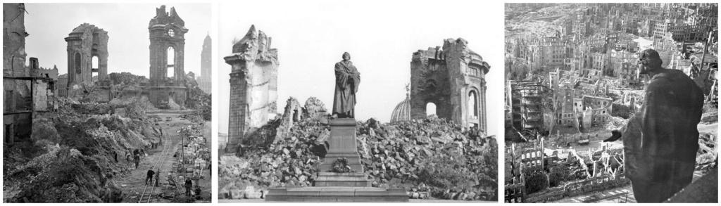 10 Marcos. Alemania. 1995. Bombardeo de Dresde Dresde12