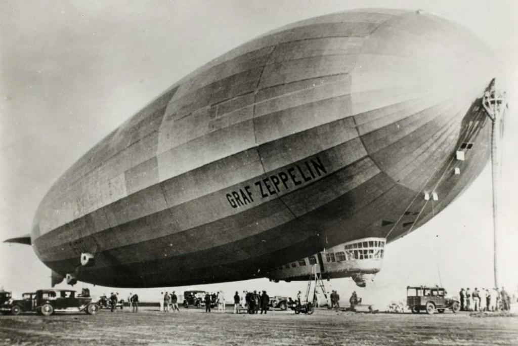 -GRAF ZEPPELIN- 5 marcos 1930 Alemania. Graff-10