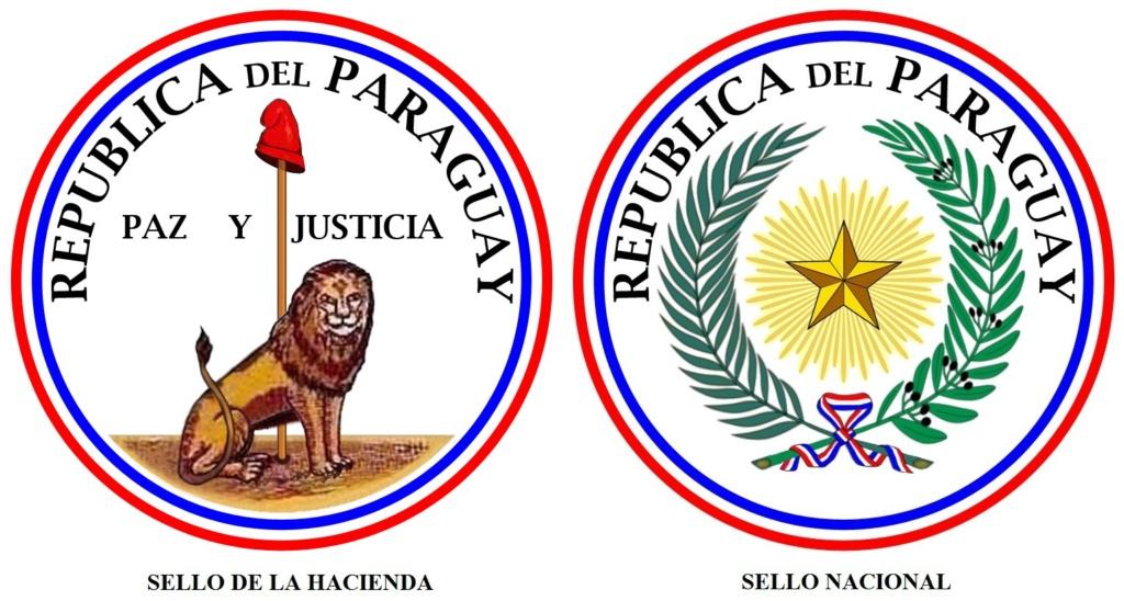 1 Peso 1889 Rep. del Paraguay Py-esc10
