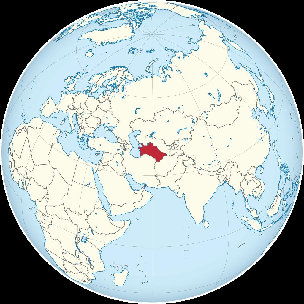 500 Manat. Turkmenistán 2003 Turkme10